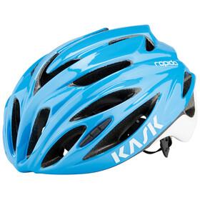 Kask Rapido Kask rowerowy niebieski